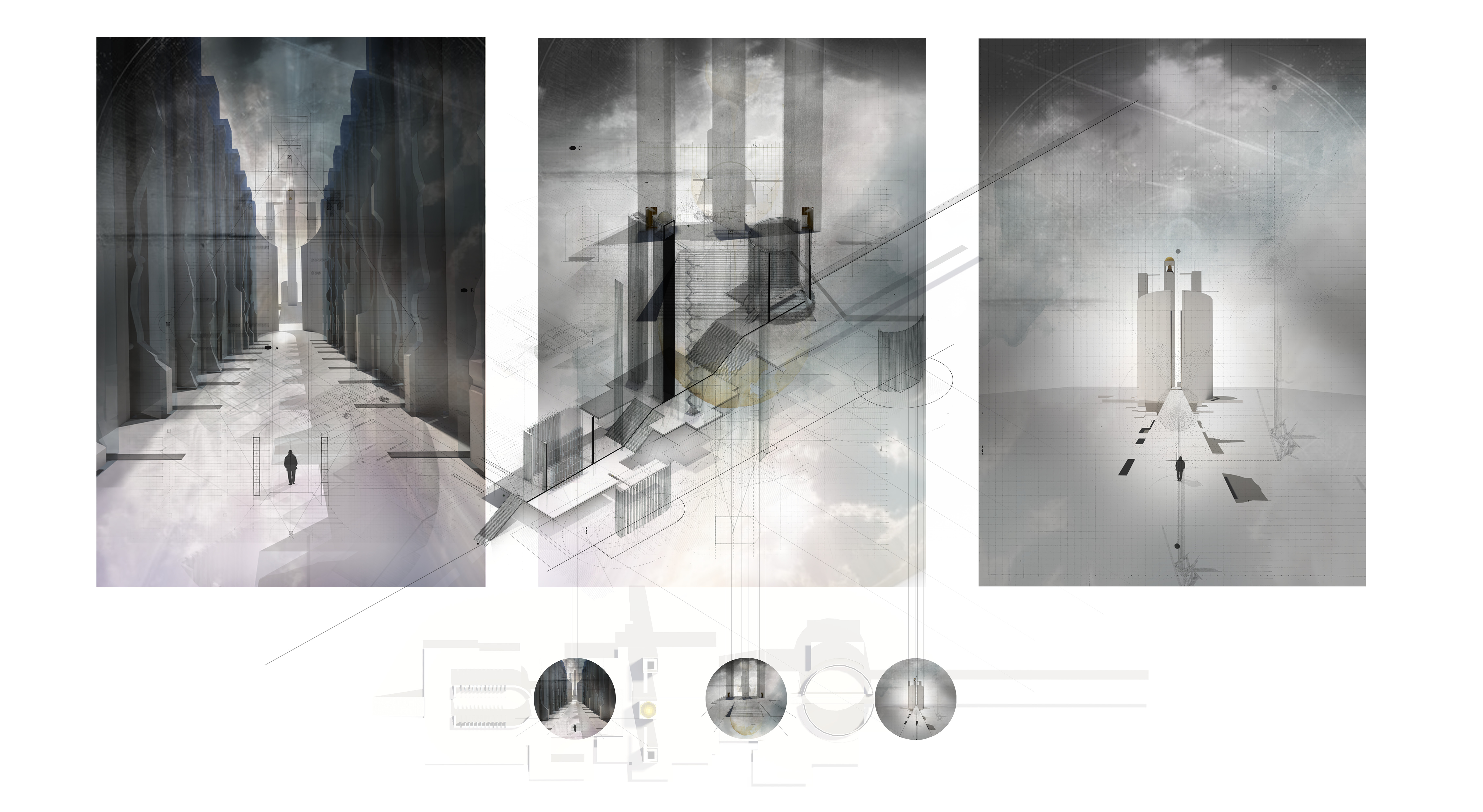 Interior Architecture 5 Years COPTIC RUINS REINCARNATED By Vioula Said